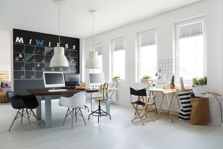 Modelo de escritório: como montar uma decoração mais produtiva