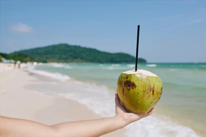Conheça os benefícios da água de coco para sua saúde