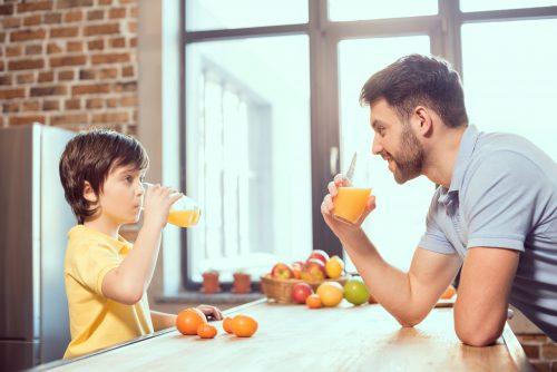 como fazer suco de laranja