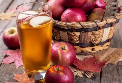 suco de maçã natural