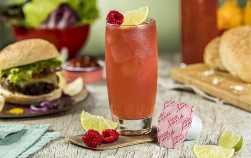 receita de limonada rosa