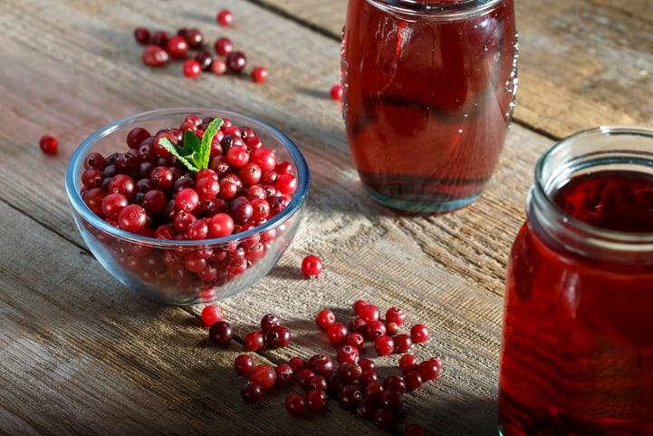 benefícios do cranberry