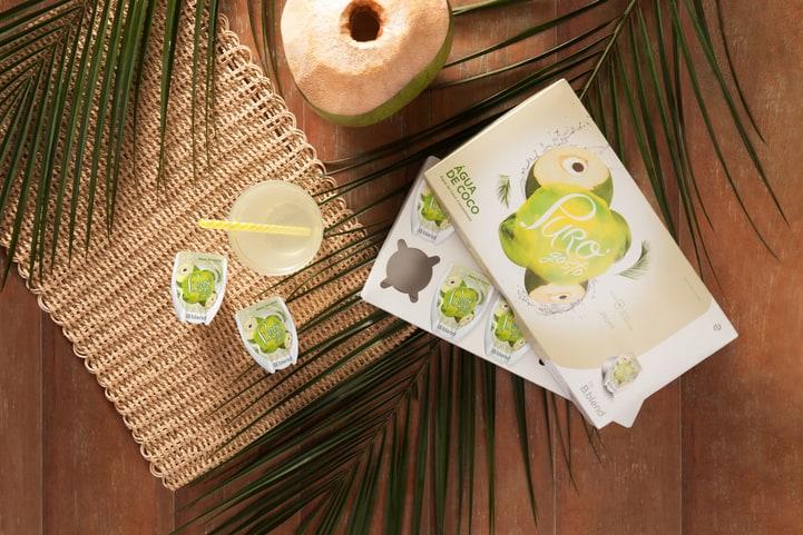 receitas com água de coco