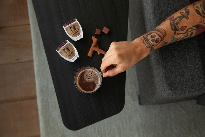 máquina-de-bebidas-quentes-chocolate
