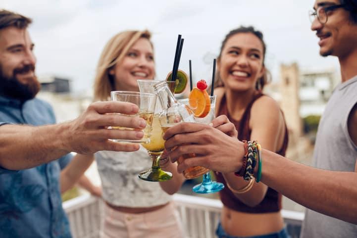 porcentagem de álcool nas bebidas