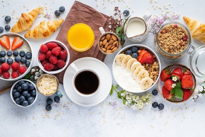 Confira 5 ideias para um café da manhã nutritivo