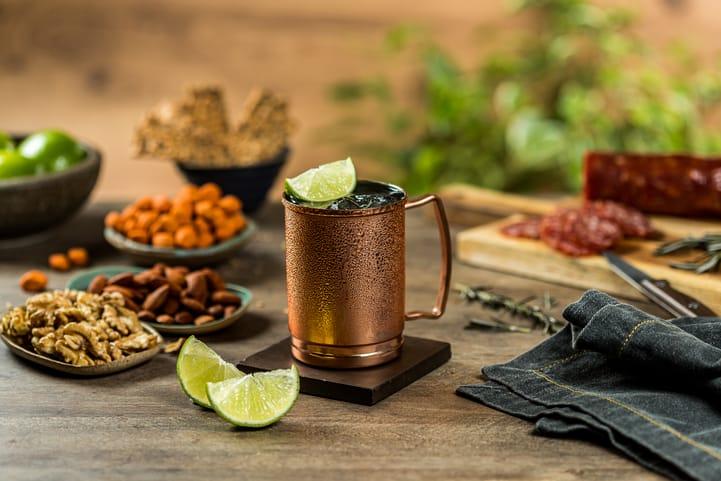 4 opções de receitas de drinks com gengibre