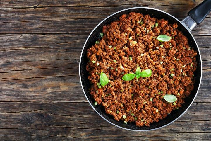 3 receitas fáceis com carne moída para preparar em casa