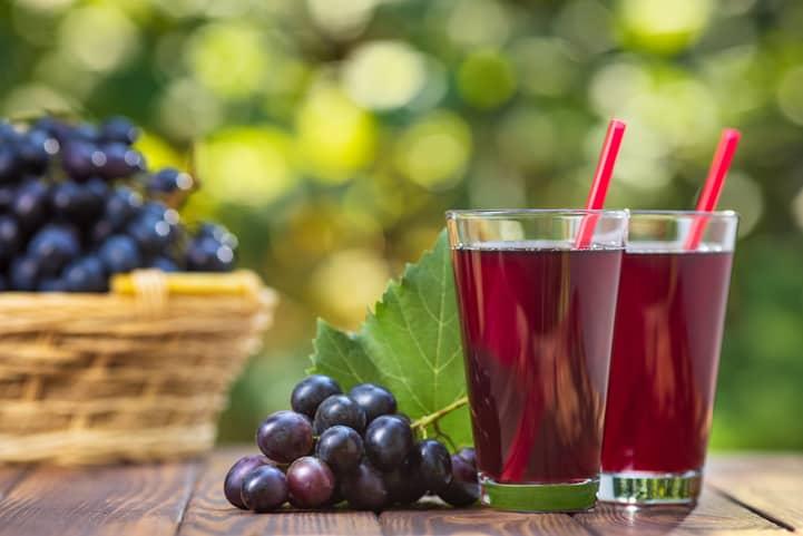 receita de suco de uva
